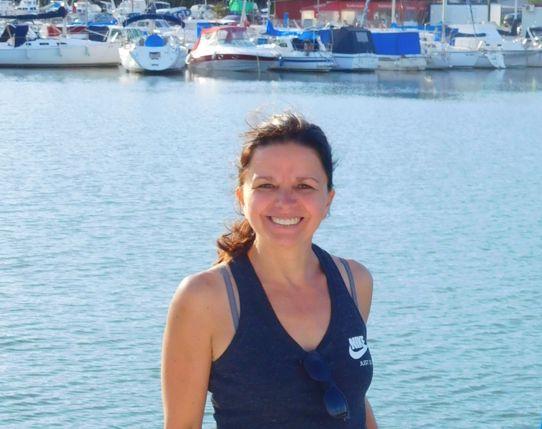 Maria E. (zum 1. Mal an Bord einer Segelyacht, inzwischen sogar Yachtbesitzer!)