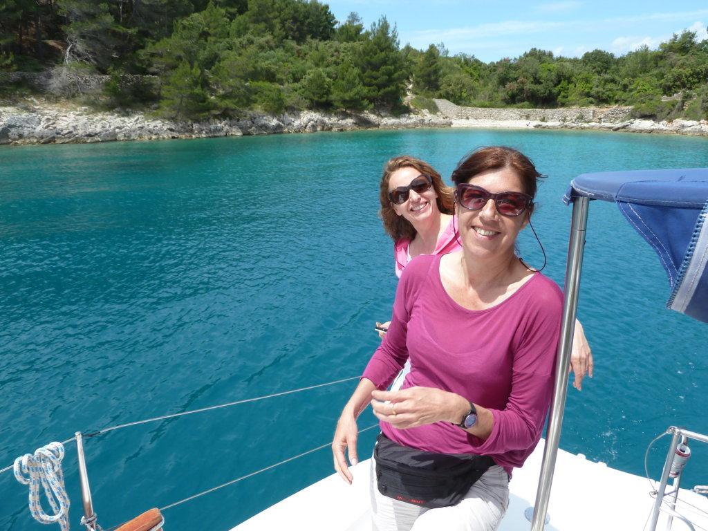 Maria K., (zum 1. Mal an Bord einer Yacht)