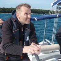 Thomas M. (4 Mon. nach Treffen stolzer Yachtbesitzer! - die Yacht wird durch Ulrich Baussmann/PAGOMO weiter im Charterbetrieb gemanaged)