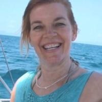 Ellen E. (Seglerin, hat mit Mann eigene Yacht, zum 1. Mal bei PAGOMO an Bord)