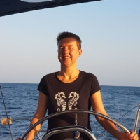 Jutta H. (Seglerin, zum 1. Mal bei PAGOMO an Bord)