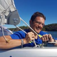Heiko S. (selbst Segler & Skipper, zum 1. Mal bei PAGOMO dabei)