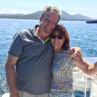 Bernd W. & Annelie J. (zum 2. Mal bei PAGOMO an Bord, eigenes Motorboot)